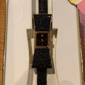 Lted edition black Kate Spade Kenmare watch. NWT.